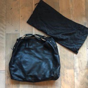 Gucci Bags - Excellent GUCCI Horsebit bag large black w/dustbag
